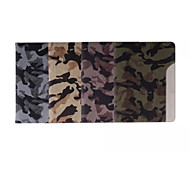Special Design Mixed Color PU Leather Auto Sleep/Wake Up Folio Cases iPad Air Camouflage Color Retina Snow