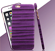 sottile pc di disegno venature del legno copertina rigida causa per iPhone 6 più (colori assortiti)