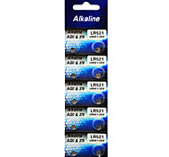 ALKALINE LR521 SR521SW 379 AG0 High Capacity Button  Batteries (10PCS)