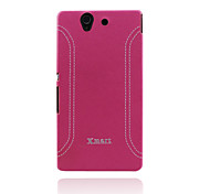 Xmart® Leather Back Cover Case For Sony Xperia Z  L36H Cell Phone Case (Assorted Colors)