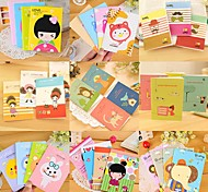 Cute Cartoon Pattern Notebook(Random Color)