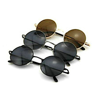 Men And Women Vintage Circular Frame Sunglasses