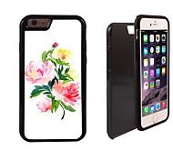 elegante Blumenmuster 2 in 1-Hybrid Rüstung Ganzkörper-Dual-Layer-Schock-Schutz schlanke Fall für iPhone 6