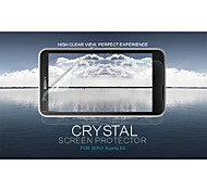cristal nillkin filme protetor de tela anti-impressão digital clara para Sony Xperia e4