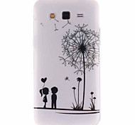 For Samsung Galaxy Case Pattern Case Back Cover Case Dandelion TPU Samsung Grand 2