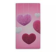 Liebe Muster PU-Mappe-Stil-Karte Telefonkasten für Samsung Galaxy Ace 4 g357fz g313h s2 i9100 s4mini