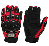 Motorcycle Motorbike Motocross Racing Protective  Gloves Full Finger/ Cloth /M/L/XL Red/Black/Blue