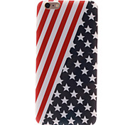 The American Flag Design TPU Soft Case for iPhone 6