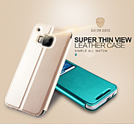KALAIDENG Sun Series Super Thin View Leather Case for HTC One M9