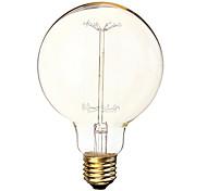 G95 40W 360LM 3000K Warm White bulb tungsten filament lamp (220V-240V)