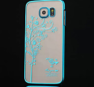 High-grade Plating Diamond Tree Phone Case for Samsung Galaxy S6 (Assorted Colors)