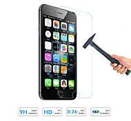 protector de pantalla de la película de cristal templado de calidad de la venta caliente para el iphone de apple 6