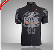 GETMOVING Men's/ Short Sleeve Spring/Summer/Autumn Cycling Tops/Breathable/Ultraviolet Resistant/Quick Dry