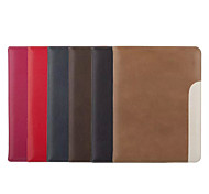 Special Design Solid Color PU Leather Auto Sleep/Wake Up Folio Cases iPad2 3 4 Ultra-Thin Drop Shell