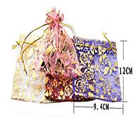 10 Stück-Spitze / Nylon-Schmucktaschen