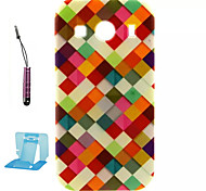 For Samsung Galaxy Case Pattern Case Back Cover Case Geometric Pattern TPU Samsung Ace 4