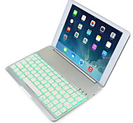 DGZ Ultrathin Magnetic Aluminum Bluetooth Wireless Keyboard Case  Cover For have back light Apple iPad air