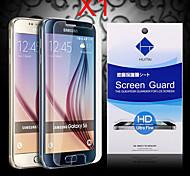 Protector de pantalla de alta definición con polvo absorbente para la galaxia s6 (PC 1)