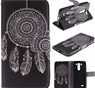LG G3 Mini PU Leather Full Body Cases / Cases with Stand Graphic / Special Design case cover