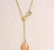 Fashion Acrylic Crystal Pendant Necklace