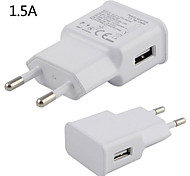 1.5A EU Ac Charger USB Wall Charger Adapter For Iphone And Samsung