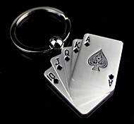 Alloy Poker Key Chain