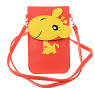 Cartoon Design Can Touch Screen Mobile Phone Package with A Rope For Samsung Galaxy S6/S6edge/NOTE3/NOTE4/S5