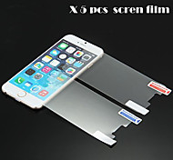 GYM 5pcs HD Clear Front Screen Film for iPhone 6