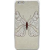 бабочка образцов Pattern окрашены рельефы трудно обратно бухта дело на iphone 6 плюс
