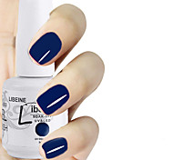 LIBEINE 1pc Soak Off 15 ML UV Gel Nail Polish Color Gel Polish 086# Sapphire