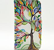 farbige Bäume Muster der Inneren gemalt Karten für Samsung-Galaxie s5
