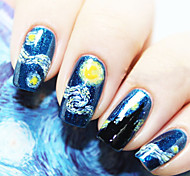 Dream Starry Sky Nail Stickers