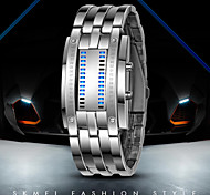 Luxury Oversized Fashion LED Binary Wrist Watch with Date Display Waterproof Sports Wrist Watches(Assorted Colors)