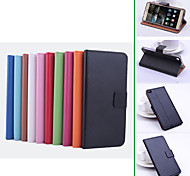 Colourful Protective PU Leather Magnetic Vertical Flip Case for Huawei Ascend P8(Assorted Colors)