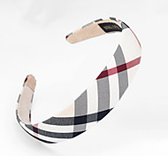 Fashion Black And White Fabric Hair Band For Women(Black And White)(1Pcs)