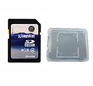 Original Kingston Digital 4GB Class 4 SD Memory Card And The Memory Card Box