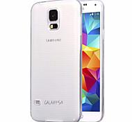 custodia morbida ultra-sottile trasparente TPU protettiva per Samsung Galaxy S5 / i9600