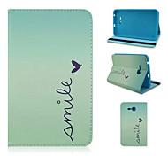 softshell dipinto caso tablet staffa per il Samsung Galaxy 3 lite t110