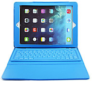 DGZ for Apple iPad air2 Bluetooth Keyboard Leather Case ,Wireless Removable Bluetooth Keyboard