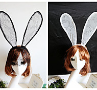 Fashion New Rabbit Ears Appeal Bud Silk Party Hair Band