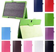 Para Funda Samsung Galaxy con Soporte / Flip Funda Cuerpo Entero Funda Un Color Cuero Sintético Samsung Tab S 10.5