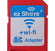 Ez Share High Speed Wireless WIFI WLAN MicroSD to SD SDHC Memory Card Adapter