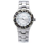 Brand Women Watches New Japanese Quartz Watch with Leopard design Watch