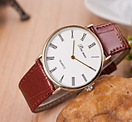 Men's Watches  Korean Fashion Belt Hand Watch Rome Words