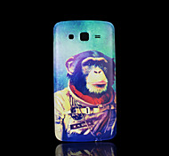 chimpansee patroon deksel fo Samsung Galaxy Grand 2 g7106 case