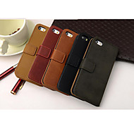 Grain cowhide PU Leather Full Body Case for iPhone 4/4S(Assorted Colors)