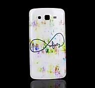Infiniti patroon deksel fo Samsung Galaxy Grand 2 g7106 case