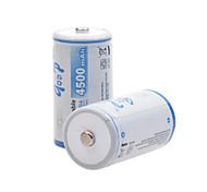 godp 4500mAh 1.2v-tipo c bateria de NiMH recarregáveis (2pcs)