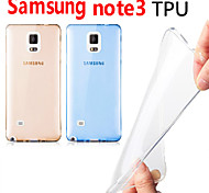Through Color TPU Case for Samsung Note 3