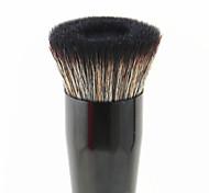vela grande rosto escova aperfeiçoamento plana base líquida pincel de maquiagem